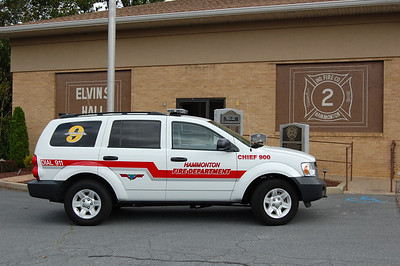 Hammonton Chief 900 2008 Dodge Durango Photo by Chris Tompkins