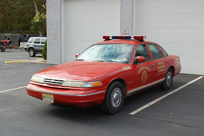 Laureldale Fire Co. in Hamilton Twp.  Car 1830 1998 Crown Vic Photo by Chris Tompkins