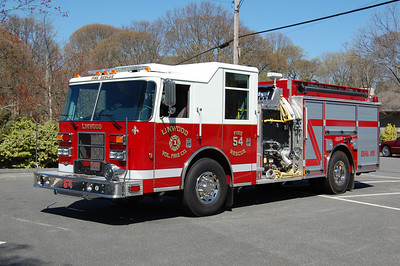 Linwood Engine 54 2007 Pierce Contender 1000 tank 1250gpm Photo by Chris Tompkins