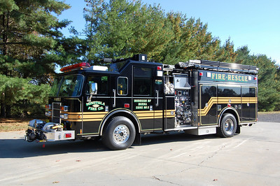 Minotola Fire Co. in Buena Twp. Engine 11-22, a 2002 Pierce dash 2000 / 750.  Photo by Chris Tompkins