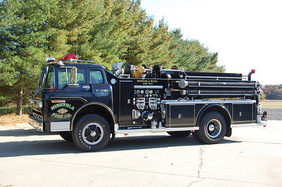 Minotola Fire Co. in Buena Twp. Engine 1121, a 1971 Ford C-900 / Tasc 750 / 1000. Photo by Chris Tompkins