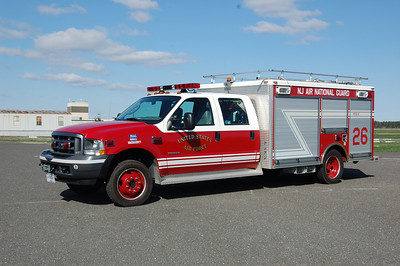 NJ Air National Guard Rescue 26 2004 Ford 550-Pierce Contender Photo by Chris Tompkins