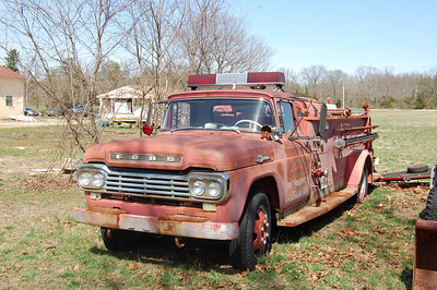Newtonville Retired Engine 12-61 1959 Ford 500-Great Eastern 250-250 Photo by Chris Tompkins
