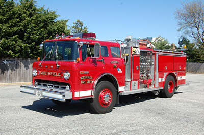 Northfield Engine 65 1983 Ford8000 E-One body          750tank 1250gpm Photo by Chris Tompkins