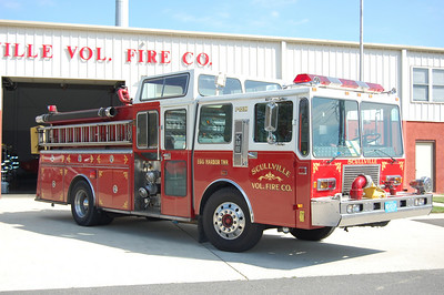Scullville Fire Co. in Egg Harbor Twp. Engine 1532, a 1988 KME 1500 / 1000.  Photo by Chris Tompkins