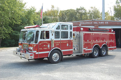 Scullville Fire Co. of Egg Harbor TwpTanker 1538 1993 KME 1500-3000 Photo by Chris Tompkins