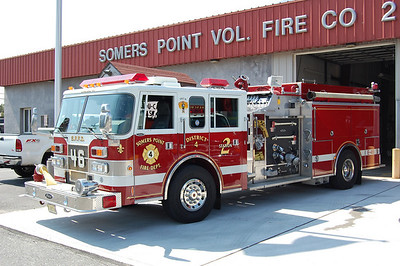Somers Point Co 2's Old Engine 46 1997 pierce saber 1000-1500 Photo by Chris Tompkins