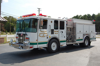 South Egg Harbor Fire Co  Station 5 in Galloway Twp  Engine 26-54 1993 HME-EEI 1250-1000-50 Photo by Chris Tompkins