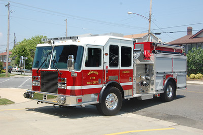 Engine 1 2010 KME Panther 1500-500 Photo by Chris Tompkins