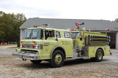 Weymouth Fire Co. Engine 1845 1983 Ford 8000-Grumman 1250gpm 1000tank Photo by Chris Tompkins