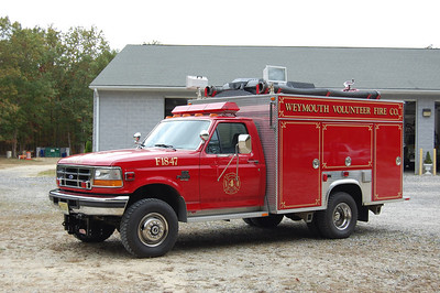 Weymouth Fire Co. Mini pumper 1847 1996 Ford Superduty - american rural 250gal 500gpm Photo by Chris Tompkins