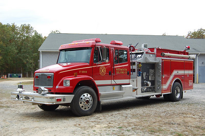 Weymouth Fire Co. Engine 1844 1998 Freightliner - Pierce 1000tank 1250gpm Photo by Chris Tompkins