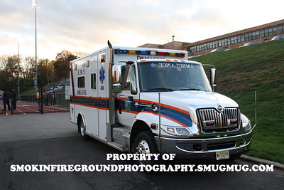 ALS, BLS, and First Response Vehicles