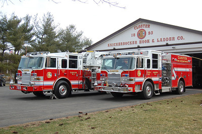 Closter Tower 769 and Engine 761