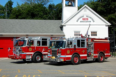 Demarest Engine 1 and Engine 2 Photo by Chris Tompkins