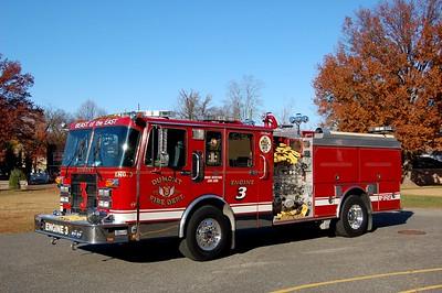 Dumont Engine 3 1993 Spartan-Smeal 1500-500 Photo by Chris Tompkins