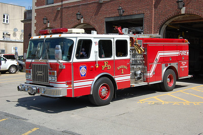 Englewood Engine 1 1997 EOne Cyclone 1750-750-50 Photo by Chris Tompkins