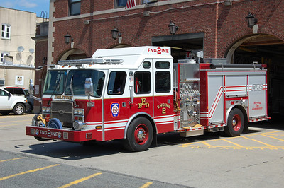 Englewood Engine 2 2008 EOne Cyclone 2 2000-750-50 Photo by Chris Tompkins