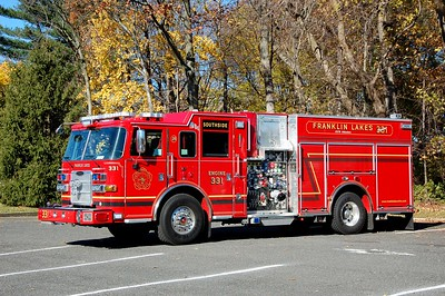 Franklin Lakes Engine 331 2016 Pierce Arrow xt 1500-600-50A  Photo by Chris Tompkins