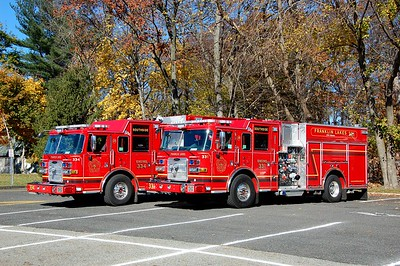 Franklin Lakes Engine 334 and Engine 331  Photo by Chris Tompkins