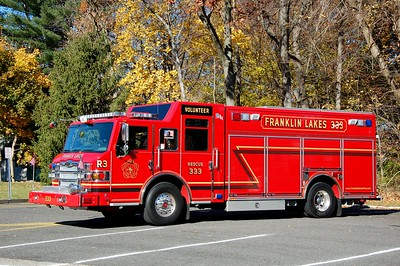 Franklin Lakes Rescue 333 2009 Pierce Velocity Photo by Chris Tompkins