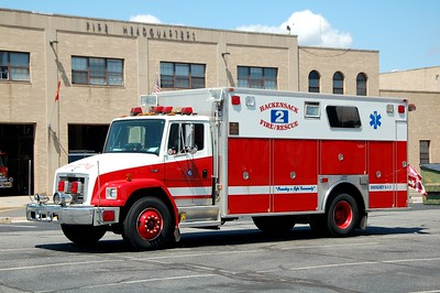 Hackensack Rescue 2 1995 Freightliner-Marion  Photo by Chris Tompkins