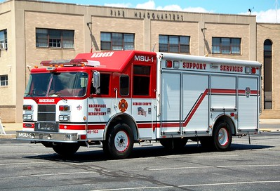 Hackensack UASI Air Cascade Unit 2005 Pierce Saber  Photo by Chris Tompkins