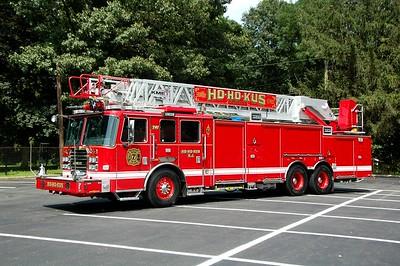 Ho-Ho-Kus Ladder 741 2018 KME-Aerialcat 1500-300-109'  Photo by Chris Tompkins