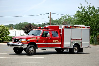 Midland Park Rescue 543 1995 Ford Super Duty-Kenco Photo by Chris Tompkins