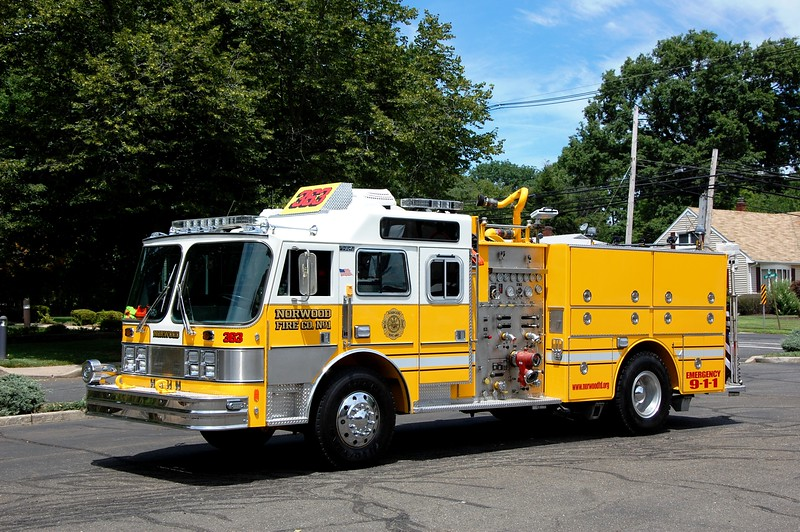 Norwood Engine 363 1985 Hahn 1500-500  2015 Refurb Cliffside - Fire and Saftey  Photo by Chris Tompkins