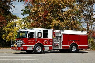 Oradell Engine 24 2019 Pierce Enforcer 1500-500  Photo by Chris Tompkins