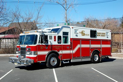 Park Ridge Rescue 6 1996 Pierce Lance