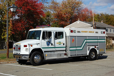 Ramsey Rescue 8 1999 Freightliner - Rescue1  Ex  Saddle River Valley Rescue Squad  Photo by Chris Tompkins