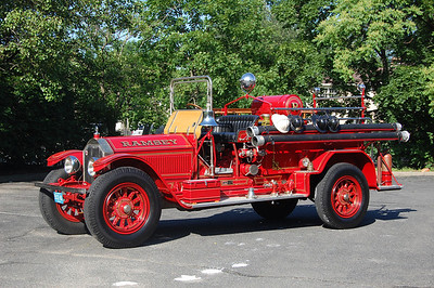 Ramsey Antique 1927 American LaFrance 600-60 Photo by Chris Tompkins