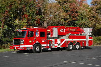 Ramsey Tower 441 2018 Rosenbauer 88' Tower  Photo by Chris Tompkins