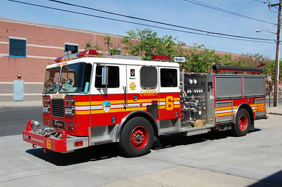 Camden Engine 1 2003 Seagrave 1250-500 Ex Engine 6 Photo by Chris Tompkins