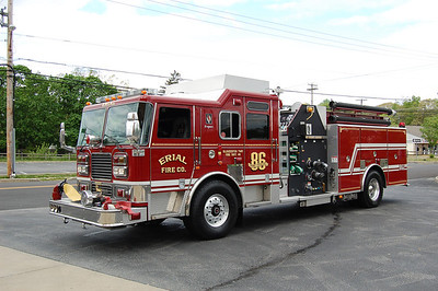 Erial Engine 862 2005 Seagrave 2000-750 Photo by Chris Tompkins