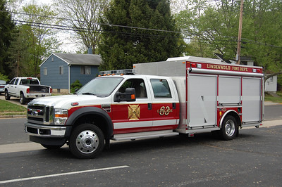 Lindenwold Cascade 63 2008 Ford F550-KME Photo by Chris Tompkins