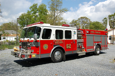 Pine Hill Squad 62 1993 EOne 1500-500 Photo by Chris Tompkins