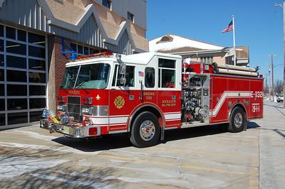 Avalon Engine 1132 1996 Pierce Saver 1250-1000 Photo by Chris Tompkins