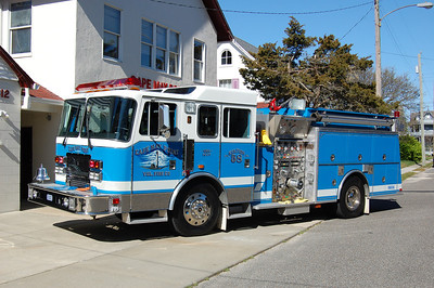 Cape May Point Engine 5831 1996 KME 1250-1000 Photo by Chris Tompkins