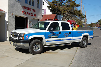 Cape May Point Brush 5820 2003 Chevy Silverado 250-250 Photo by Chris Tompkins