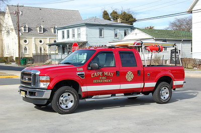 Cape May Water Rescue 5110 2008 Ford F250 Photo by Chris Tompkins