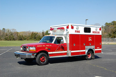 Dennis Rescue 1872 1993 Ford F350 - EVI Photo by Chris Tompkins