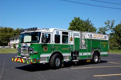 Green Creek Engine 73 2019 Pierce Enforcer 1500-750
