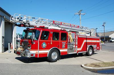 North Wildwood Engine 2 2003 EOne 2000-500 75' Photo by Chris Tompkins