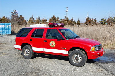 Ocean City Water Rescue 1996 GMC Jimmy Photo by Chris Tompkins