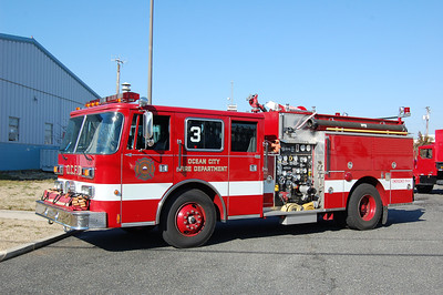 Ocean City Engine 23 1992 Pierce arrow 1250gpm 750tank Photo by Chris Tompkins