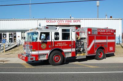 Ocean City Engine 3 2005 Pierce arrowXT 500tank 1500gpm Photo by Chris Tompkins
