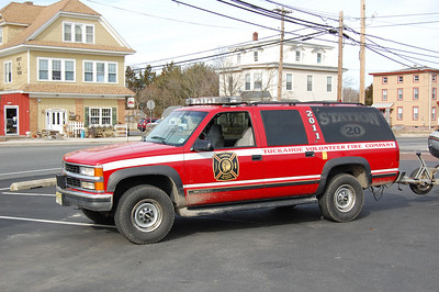 Tuckahoe Utility 2011 1997 Chevy Surburban Photo by Chris Tompkins